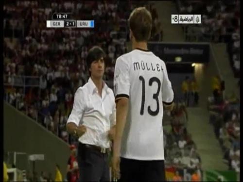 Joachim Löw - Germany v Uruguay 52