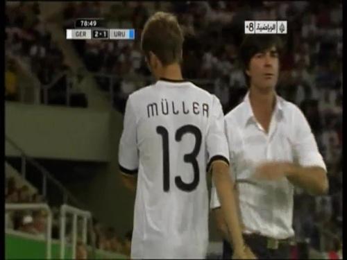 Joachim Löw - Germany v Uruguay 53