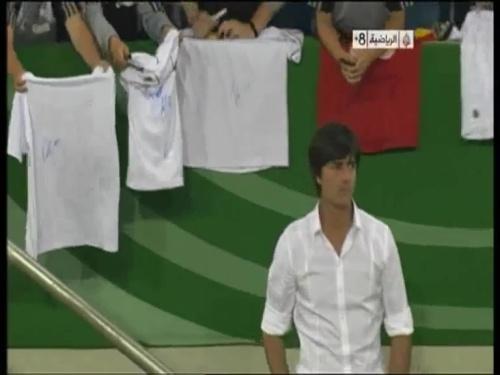 Joachim Löw - Germany v Uruguay 55