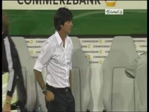 Joachim Löw - Germany v Uruguay 59