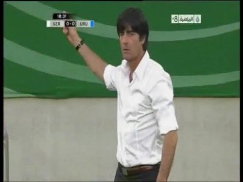 Joachim Löw - Germany v Uruguay 6