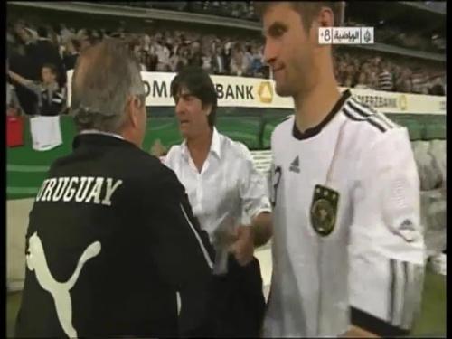 Joachim Löw - Germany v Uruguay 60