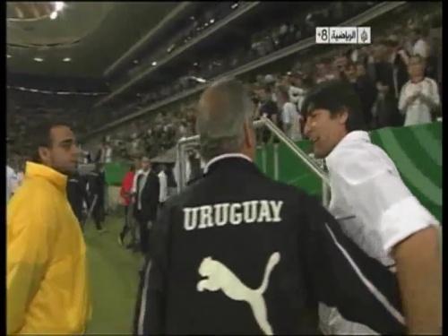 Joachim Löw - Germany v Uruguay 65