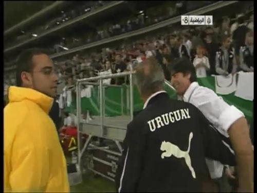 Joachim Löw - Germany v Uruguay 66