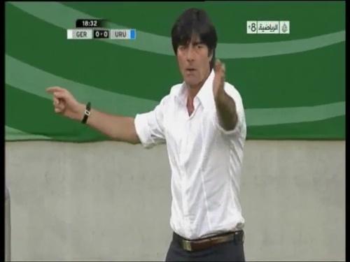Joachim Löw - Germany v Uruguay 7