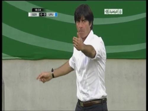 Joachim Löw - Germany v Uruguay 8