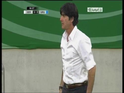 Joachim Löw - Germany v Uruguay 9