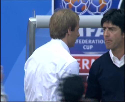 Joachim Löw & Jürgen Klinsmann – Germany v Australia (2005) 1