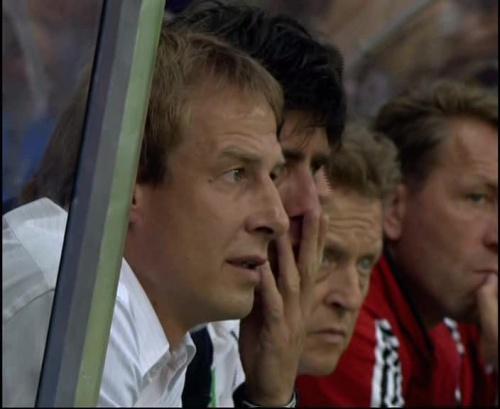 Joachim Löw & Jürgen Klinsmann – Germany v Australia (2005) 10