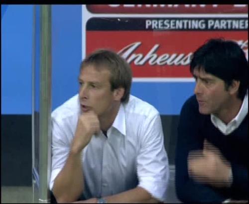 Joachim Löw & Jürgen Klinsmann – Germany v Australia (2005) 11