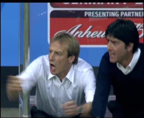 Joachim Löw & Jürgen Klinsmann – Germany v Australia (2005) 12