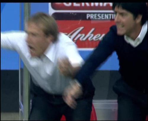Joachim Löw & Jürgen Klinsmann – Germany v Australia (2005) 13