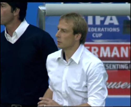 Joachim Löw & Jürgen Klinsmann – Germany v Australia (2005) 14