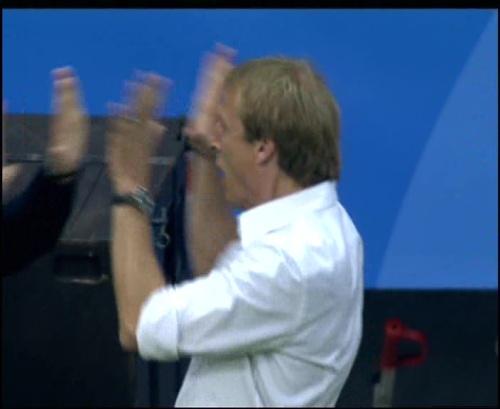 Joachim Löw & Jürgen Klinsmann – Germany v Australia (2005) 15