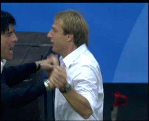 Joachim Löw & Jürgen Klinsmann – Germany v Australia (2005) 17