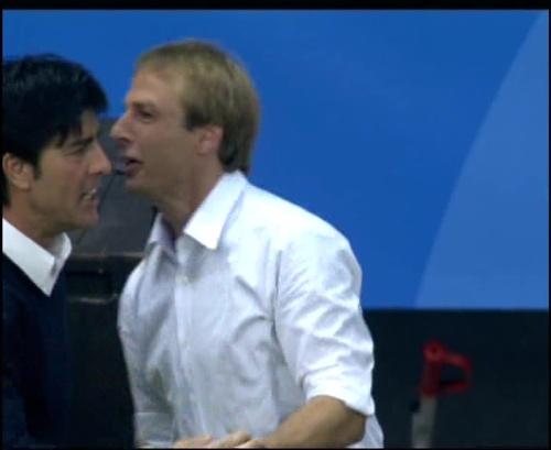 Joachim Löw & Jürgen Klinsmann – Germany v Australia (2005) 18