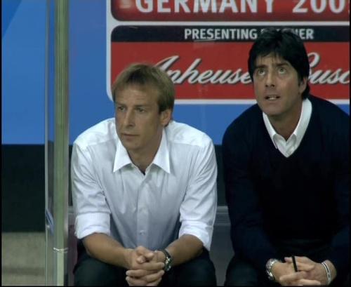 Joachim Löw & Jürgen Klinsmann – Germany v Australia (2005) 19