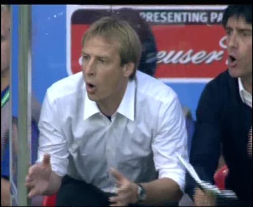 Joachim Löw & Jürgen Klinsmann – Germany v Australia (2005) 2