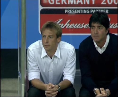 Joachim Löw & Jürgen Klinsmann – Germany v Australia (2005) 20