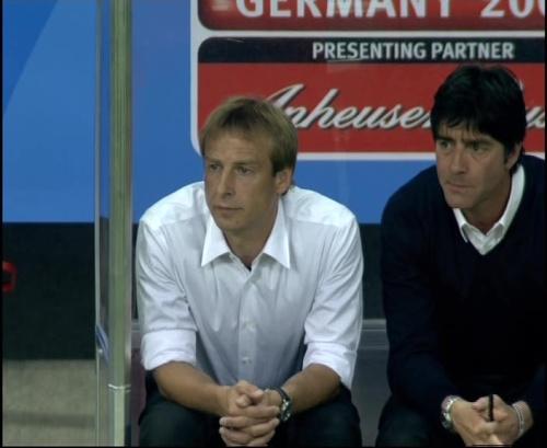 Joachim Löw & Jürgen Klinsmann – Germany v Australia (2005) 21