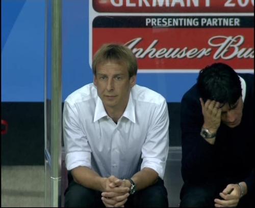 Joachim Löw & Jürgen Klinsmann – Germany v Australia (2005) 22