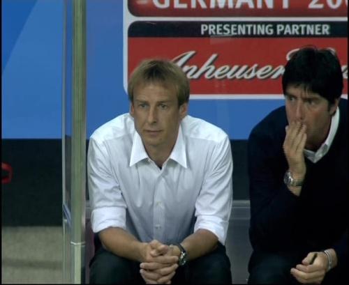 Joachim Löw & Jürgen Klinsmann – Germany v Australia (2005) 23
