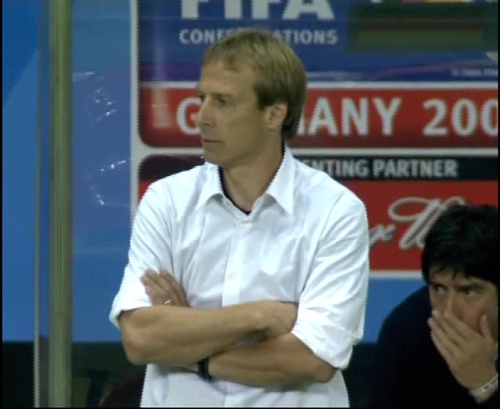 Joachim Löw & Jürgen Klinsmann – Germany v Australia (2005) 24
