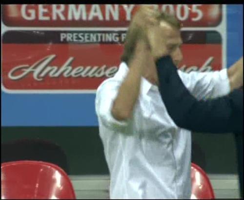 Joachim Löw & Jürgen Klinsmann – Germany v Australia (2005) 26