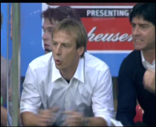 Joachim Löw & Jürgen Klinsmann – Germany v Australia (2005) 3