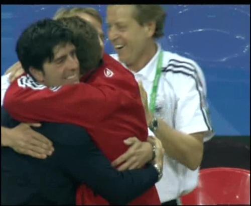 Joachim Löw & Jürgen Klinsmann – Germany v Australia (2005) 30