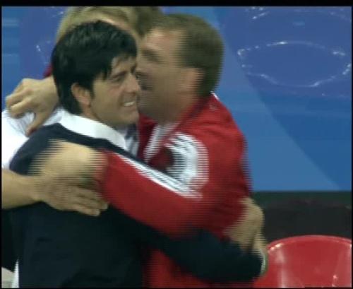 Joachim Löw & Jürgen Klinsmann – Germany v Australia (2005) 31