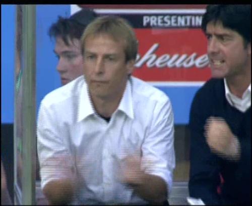 Joachim Löw & Jürgen Klinsmann – Germany v Australia (2005) 4
