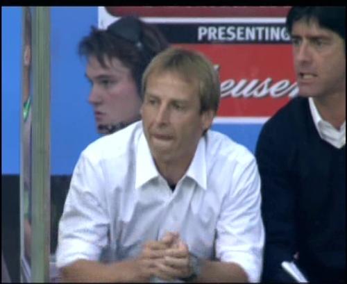Joachim Löw & Jürgen Klinsmann – Germany v Australia (2005) 5