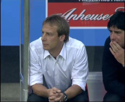 Joachim Löw & Jürgen Klinsmann – Germany v Australia (2005) 7
