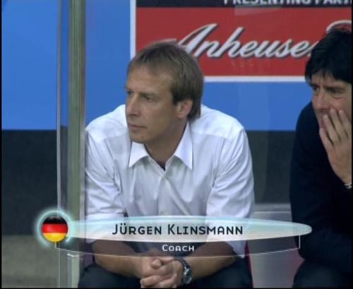Joachim Löw & Jürgen Klinsmann – Germany v Australia (2005) 8