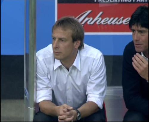 Joachim Löw & Jürgen Klinsmann – Germany v Australia (2005) 9