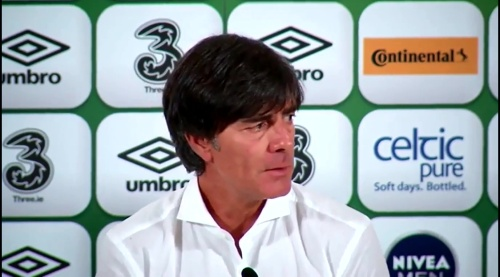 Joachim Löw - post-match press conference - Ireland v Germany 1