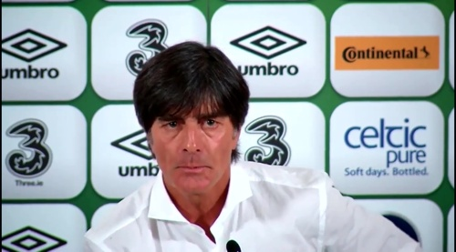 Joachim Löw - post-match press conference - Ireland v Germany 3