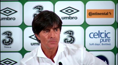 Joachim Löw - post-match press conference - Ireland v Germany 4