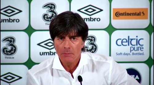 Joachim Löw - post-match press conference - Ireland v Germany 5