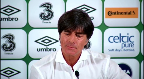 Joachim Löw - post-match press conference - Ireland v Germany 6