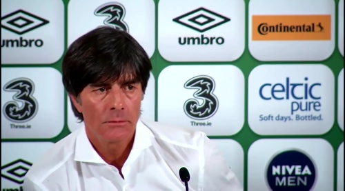Joachim Löw - post-match press conference - Ireland v Germany 7
