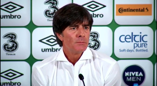 Joachim Löw - post-match press conference - Ireland v Germany 8