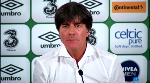 Joachim Löw - post-match press conference - Ireland v Germany 9