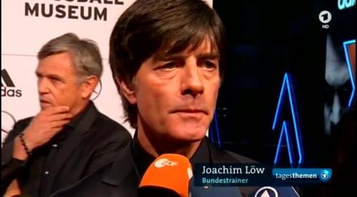 Joachim Löw - Tagesthemen 23rd Oct 2015 5