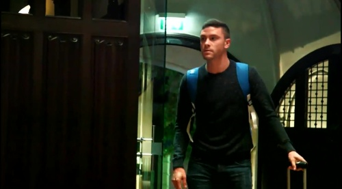 Jonas Hector - arrival in Frankfurt