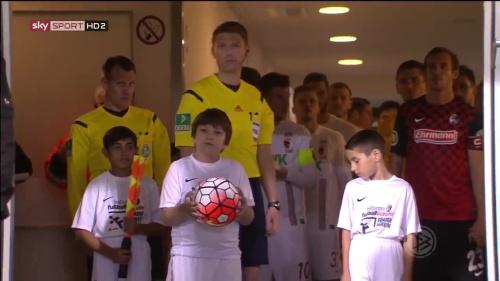 Julian Schuster - SC Freiburg v FCA - DFB Pokal 2015-16 1