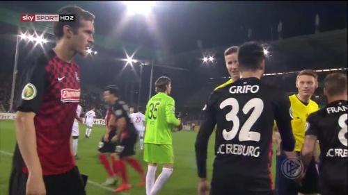 Julian Schuster - SC Freiburg v FCA - DFB Pokal 2015-16 2