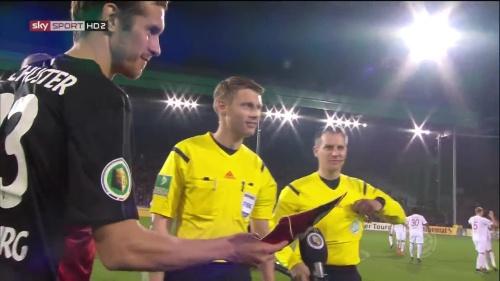 Julian Schuster - SC Freiburg v FCA - DFB Pokal 2015-16 3