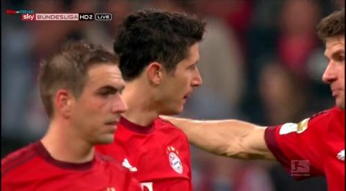 Lahm, Lewandowski & Müller – Bayern v Wolfsburg 1